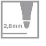 fix 2,8 mm
