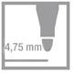fix 4,75 mm